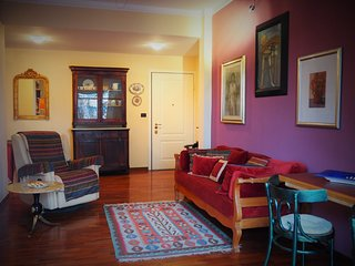 wonderful apartment with three level garden, Genua