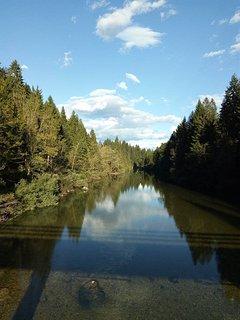 Sava river-near the house