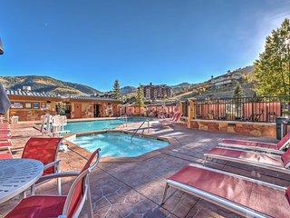 Lovely Ski-In/Ski-Out Sundial Studio w/ Hot tub!