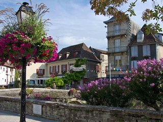 Live like a local in pretty French market village, Salies-de-Béarn