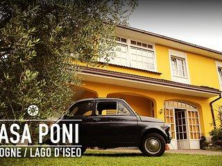 Lago d'Iseo casa vacanza Poni