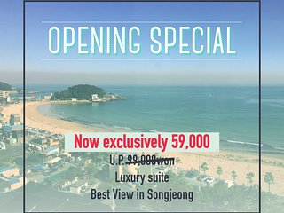 WPA Suites - Best View in Songjeong, Busan