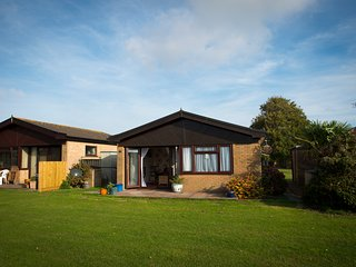 2 bedroom bungalow in a holiday park
