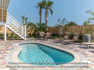 CHANCES R: New 6BR-4 Kings-Bikes-Pool-Golf Cart, Miramar Beach