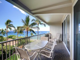 Maui One Bedroom Ocean Front Condo, Lahaina