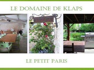Gîte Le Domaine de Klaps - Disneyland Paris Provins
