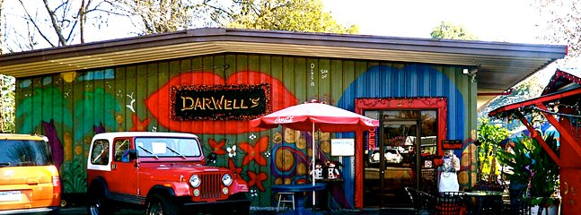 Darwell's Restaurant--3 blocks.