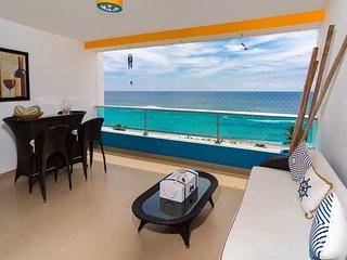 Unique beachfront 3 BDR apt in paradise, Juan Dolio