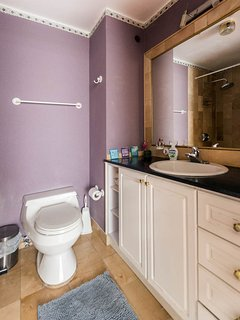 Bathroom 1: bathtub