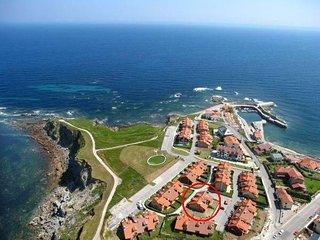 Jardin privado y piscina a 99 m. de la playa, Comillas
