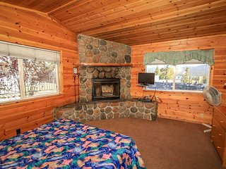 Lakeview Lodge Basic Unit With Kitchenette & Fireplace~Walk To Town~Fireplace~
