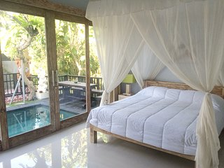 Canggu Newly Built 2BR Villa+Pool near Echo Beach
