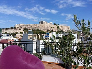 Acropolis Place, Your View, PRIVATE TERRACE, 2bd