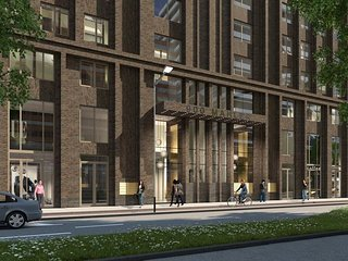 Brand new apartment close to subway and citycenter, Amsterdã