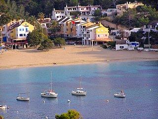appartement entierement climatise,plage, Cala Vadella