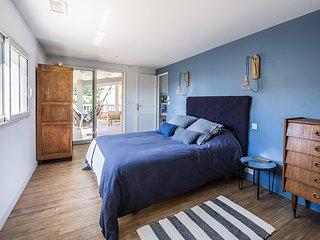 Les Petits Gardons / Gîte Blue Casbah pour 3 personnes  avec piscine intérieure, Castillon-du-Gard