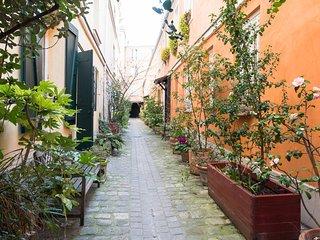 Appartement pour 2 situé dans une cour splendide, París