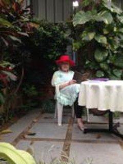 Unwinding - Carol our regular visitor