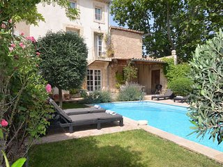 Holiday gites with private pool, Aumes South France, sleeps 12