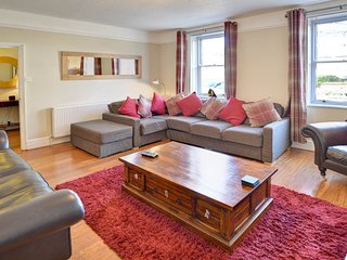 Large sitting room with comfortable seating