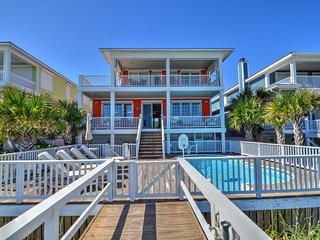 Kure's SeaCret Oceanfront -7 BR, Hot Tub, Pool