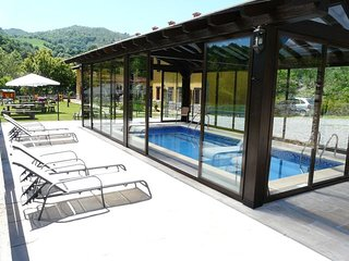 Estudio 2 personas con piscina climatizada