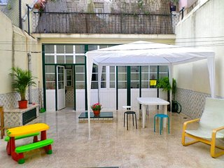 Silver Mustard apartment in Bairro Alto with WiFi & private terrace.