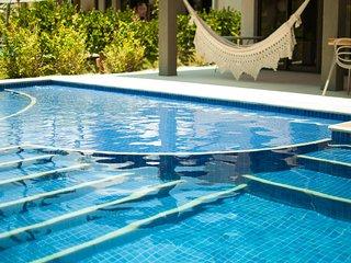 Bangalô MALAWI - 4 quartos COM SERVIÇOS e piscina, Porto de Galinhas