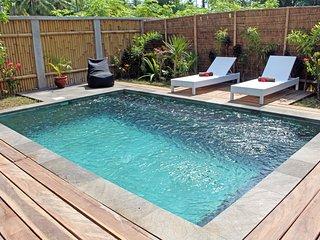 Akasia Villas Private simming pool, Gili Air
