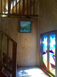 Stain glass window  & original artworks
