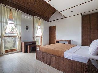snaffl Villa: Doppelzimmer West, Medewi