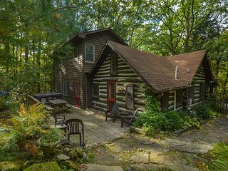 Beautifully Warm & Inviting Log Home Bursting with Character!