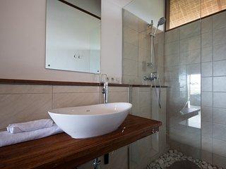 snaffl Villa: Doppelzimmer zwei Einzelbetten, Medewi