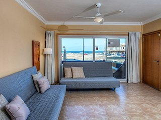 friendly family flat close to the beach, sea views