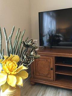 55'  Smart TV in Living Room