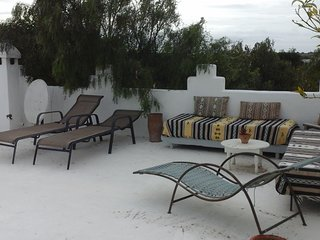 Chambre sur terrasse avec vue sur la forêt d'argan