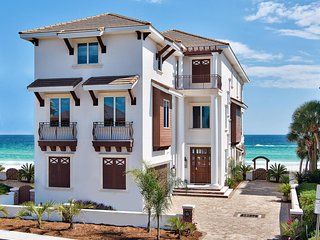 7 Bedrooms Bathrooms Gulf Front Built in 2015, Destin