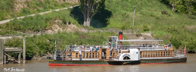 Take a paddle steamer trip up the river. Open weekends and possibly other days