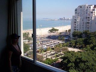 FANTASTIC VIEW FRONT TO COPACABANA BEACH, Rio de Janeiro