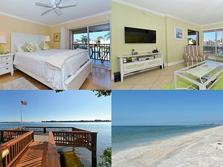 Sun Drenched One Bedroom Condo with Holiday Avail, Bradenton Beach