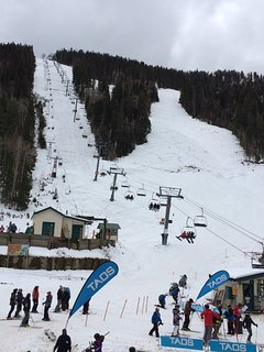 Taos Ski Valley, 15 miles from home