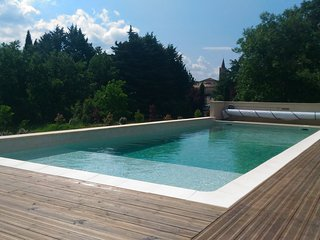 Gîte***  Au Pré de la Madé (la Madé II) maison tout confort Sud Ardèche