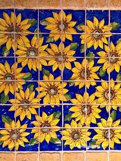 sunflowers floor