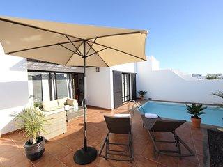 Fantastic villa in a quiet area near to Papagayo, Playa Blanca