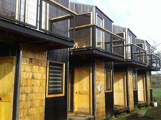 Chiloe, Chonchi, Cabanas Loft del Sur