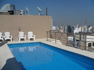 TOP FLOOR PANORAMIC 1BR Jr - DOWNTOWN - SAN TELMO