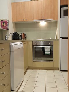 Catani 1 modern well-equipped kitchen with new appliances including Dishlex dishwasher & coffee m/c