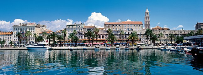 Famous city of Split with great history, only 30 minutes drive to the center