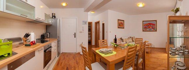 Kitchen, apartments Maja (2+2), Dugi Rat
