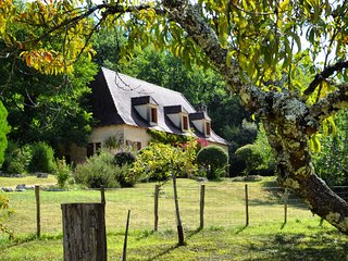 Stone barn with pool in the heart of Dordogne